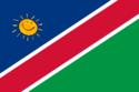 Bandeira de Ex-República Facista da Namíbia