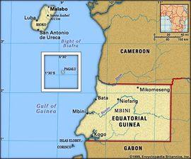 Localização de Ilha do Príncipe São Tomé