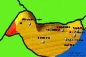 Localização de Grandioso Estado de São Paulo