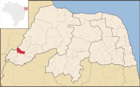 Localização de Pirocas de Ferro