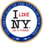 Brasão de Nova York, o estado todo