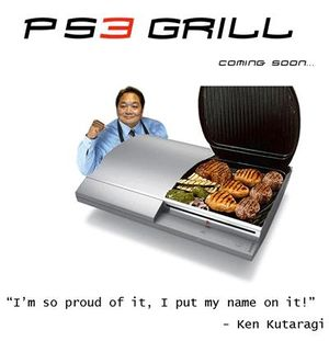 Inovador George Foreman: Play Station 3 Grill