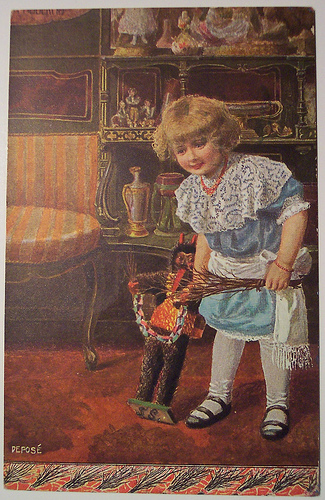 File:Girl with krampus doll.jpg