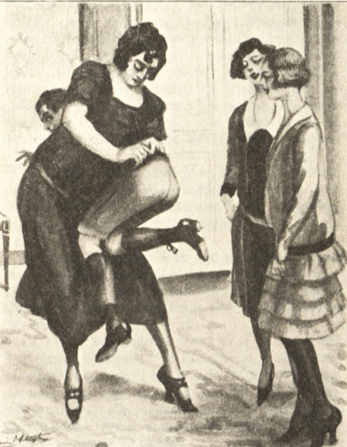 Сцены Порки Девушек В