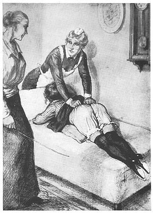 spanking art punishment Corporal