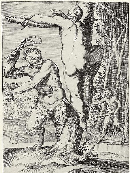 File:Agostino Carracci Satyr Whipping a Nymph.jpg