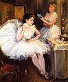 Willard Leroy Metcalf The Ballet Dancers aka The Dressing Room.jpg