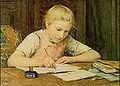 Albert Anker Girl Writing.jpg