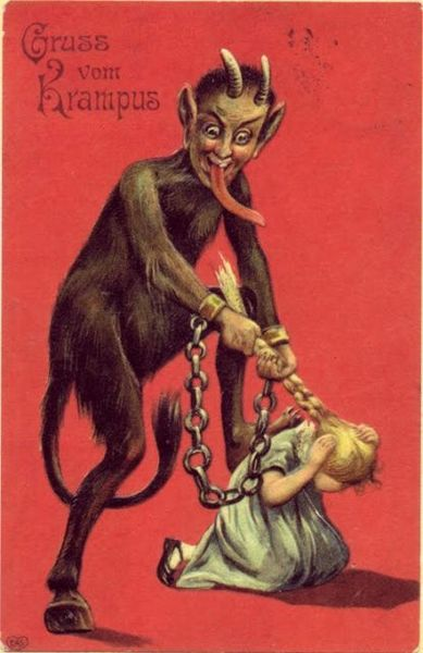 File:Krampus pulling girl's hair.jpg