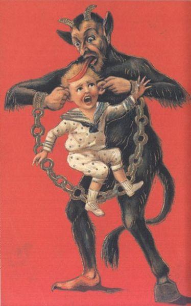 File:Krampus pulling boy's ears.jpg