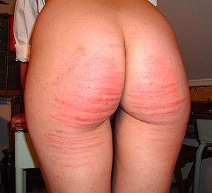 Amateur spanking photos