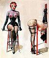 John Willie Femdom Spanking Art.jpg