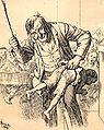 German school spanking cartoon 1904.jpg