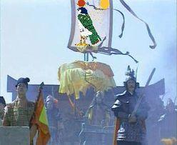(หน้า)ท่านผู้บริหารเรดซันหรืออาจจะเป็นแม่ทัพสื่อจิ้งจง(หลัง)จักรพรรดิไท่จูฮ่องเต้ กำลังสั่งเคลื่อนกองทัพไปตีสหรัฐอมาริเกย์