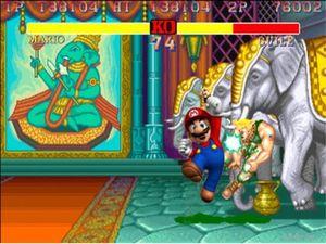 Mario ortalığı yıkarken