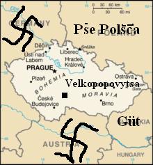 Розташування Чехії