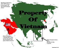 Розташування В'єтнаму
