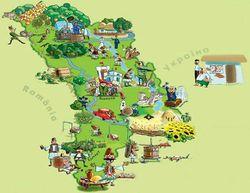 Розташування Молдови