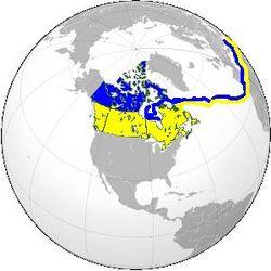 Розташування Канади