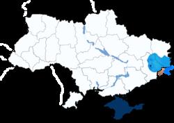 Розташування ДНР