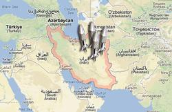 Розташування Ірану