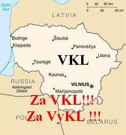 Розташування Литви
