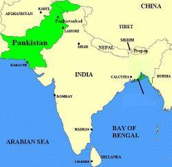 Розташування Панкістану