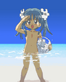 Wikipe-tan nude beach.png