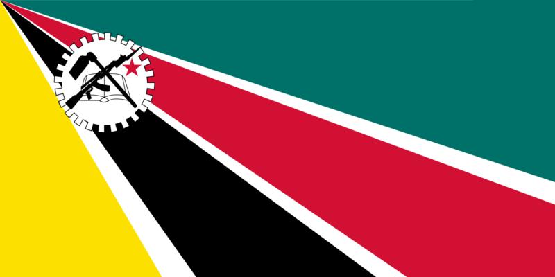檔案:Флаг Мозамбик.png