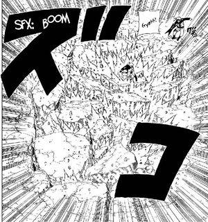 Sakura punching the ground.jpg