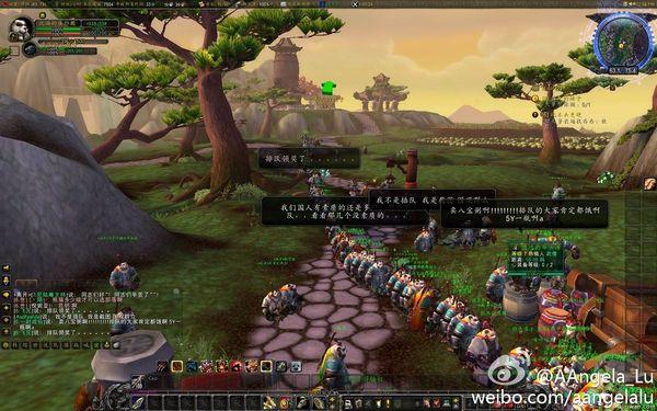 由於中國的環境好了,所以連熊貓的人口也多了。