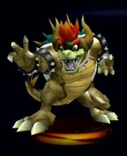 And this is why you don't give Bowser opium, and then tell him that there is no cake at the end of the portal.