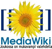 MediaWikin logo.