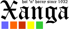 The current Xanga logo, in use since 1980.