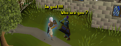Search God in runescape.