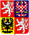 110px-Coat of arms of the Czech Republic.png