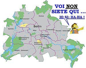 Berliinin Muuri Kartta
