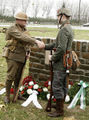 Christmas Truce memorial ceremony 2008.jpg