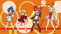 Disgaea Lucky Star Cross over by OtakuGirl123.png