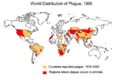 World distribution of plague 1998.PNG
