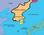 Lähde: Pohjois-Korean Virallinen Maailmanatlas, sivu 1/1.