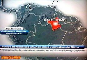 Localização de Brasília