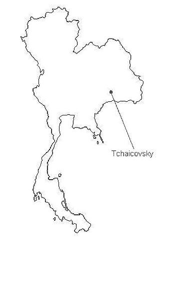 Tchaikovsky, Capital city of Thailand