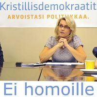 Kristillisdemokraatit ei homoille.jpg