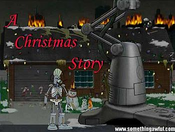 Cybernetic Ghost Of Christmas Past From The Future.Aqua Teen Hunger Force Uncyclopedia The Content Free