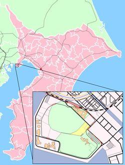 東京ディズニーリゾート合衆国の位置