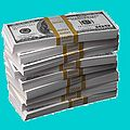 Money lovely money Dark Turquoise backgroundcolor.JPG