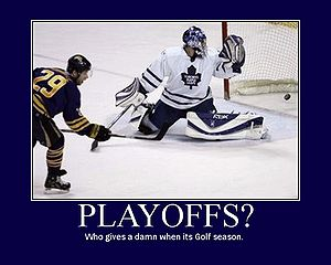 The Maple Leafs are a professional golf team. 791c3f4ea