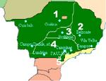 Mapa da República Interior