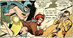 spank wonder woman